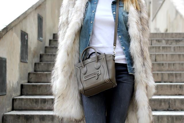 Camille et les garçons #jeans #fur 1