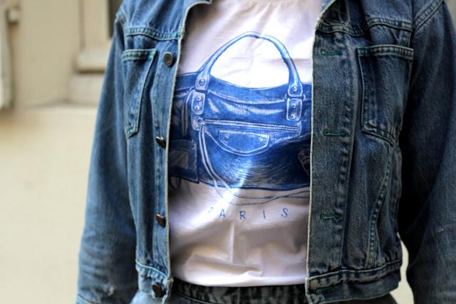 Camille et les garçons mon sac sur mon t-shirt 1
