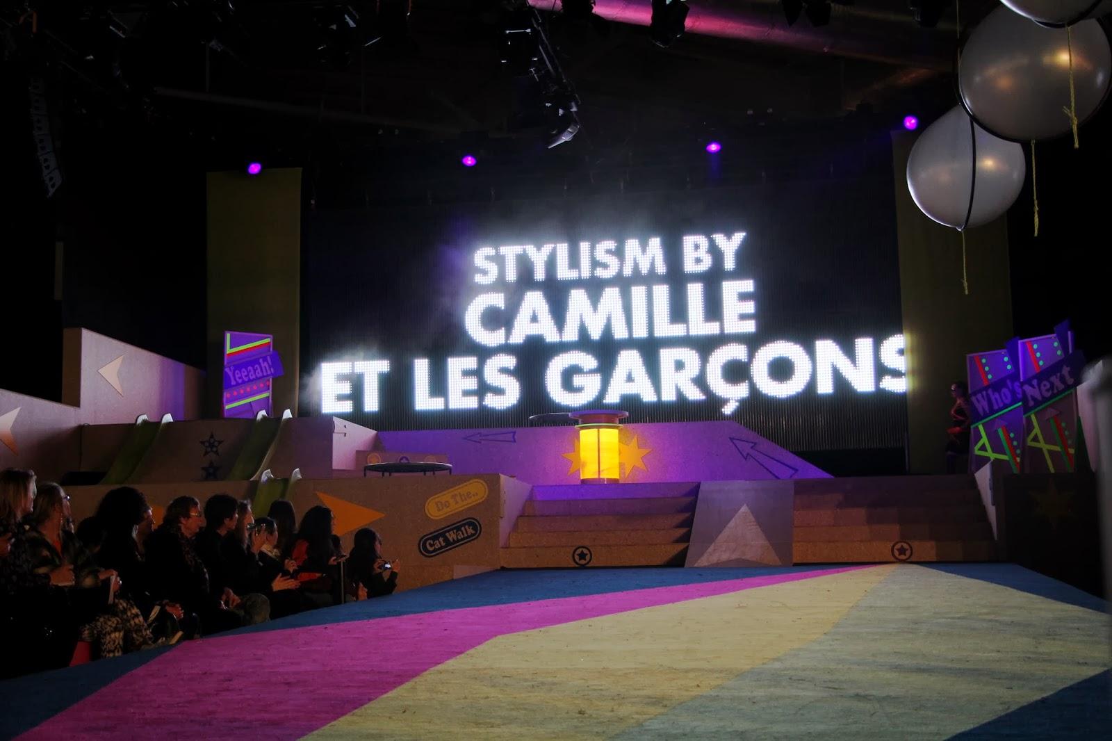 Camille et les garçons Salon WHO'S NEXT : le show 1