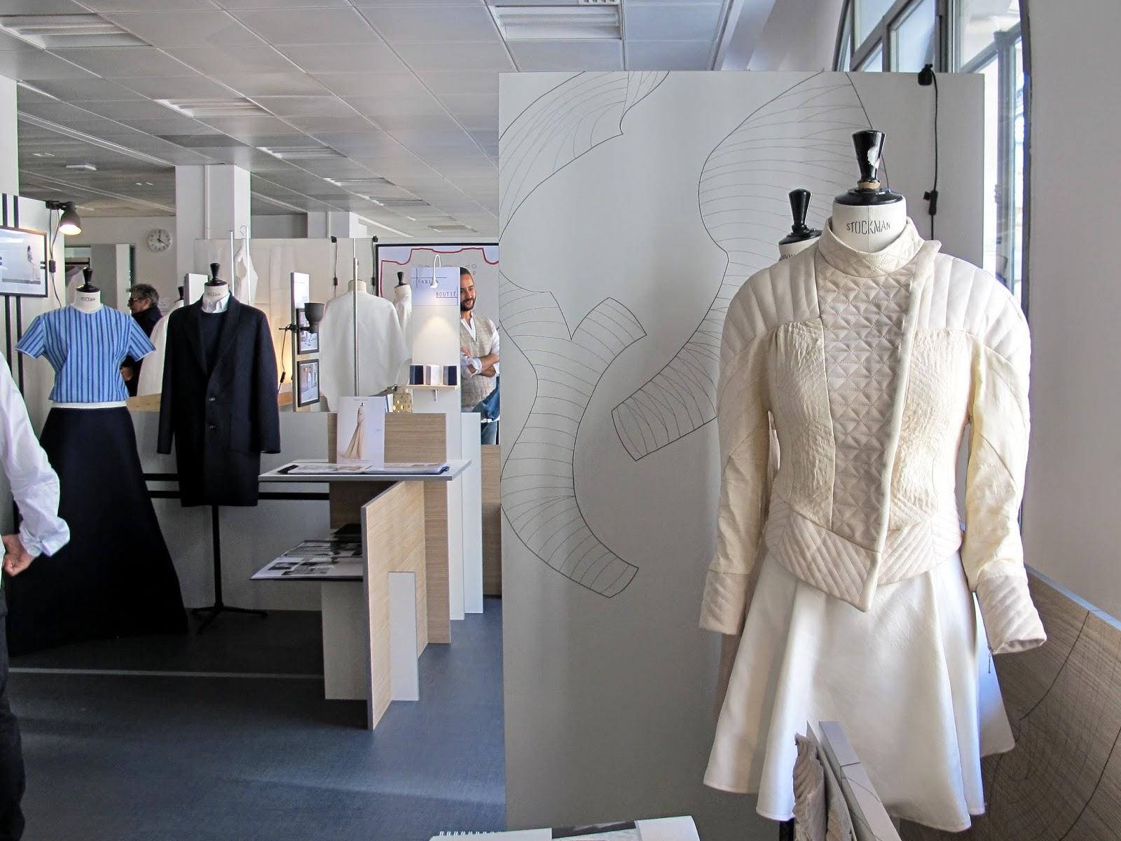 Camille et les garçons Ecole de la Chambre Syndicale de la Couture Parisienne 1