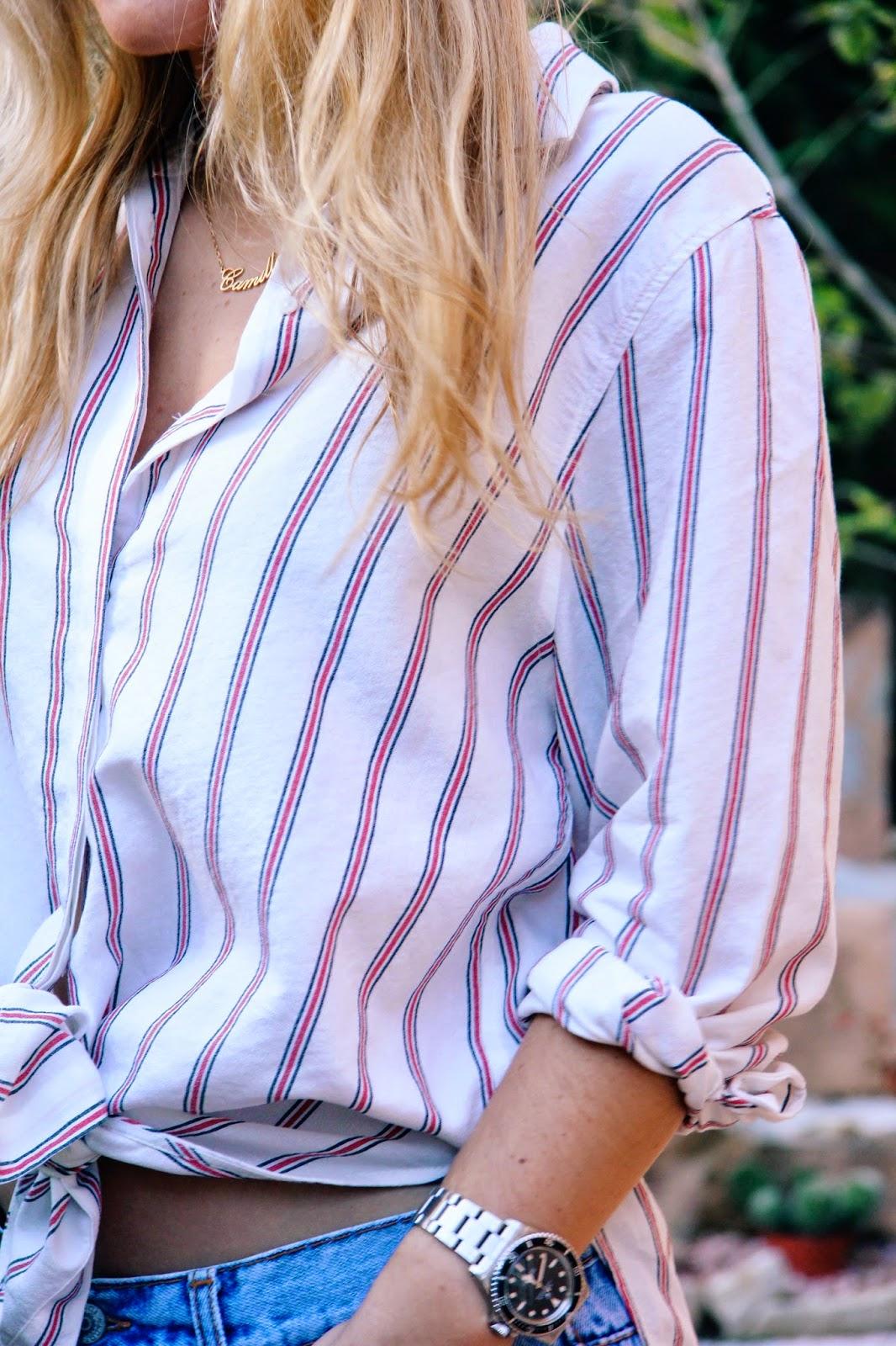 Camille et les garçons The stripped shirt 1