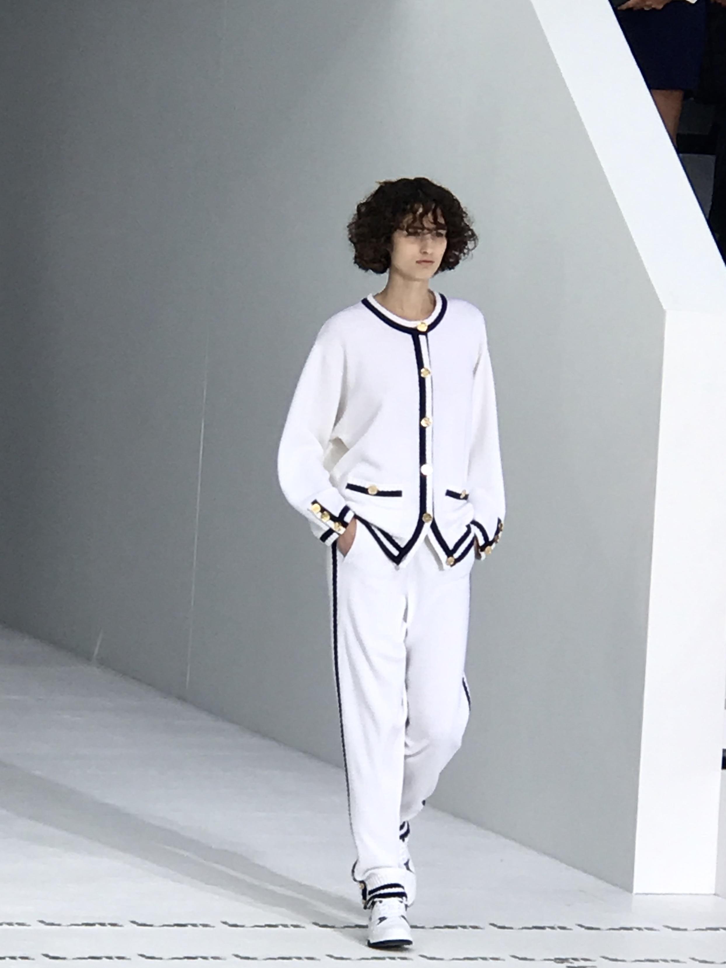 LACOSTE, PARIS FASHION WEEK, look, camille et les garçons, blog mode
